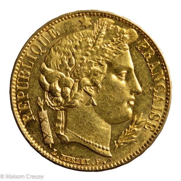 20 francs 1850