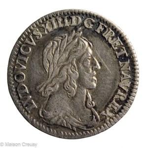 Louis XIII douzieme d'écu 1642 A