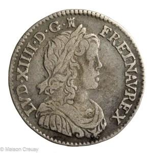 Louis XIV 1/12 écu 1660 I