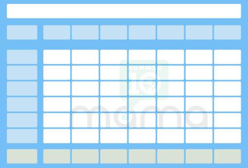 gratis multipurpose printable blauw