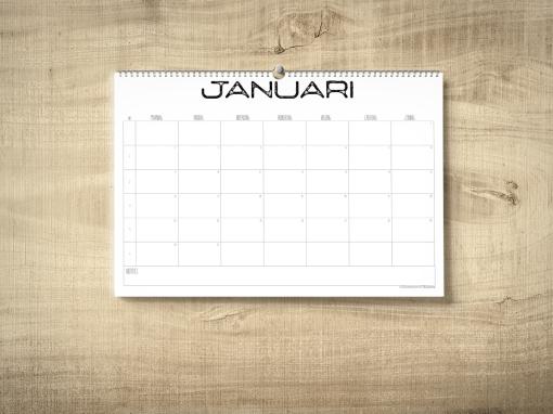kalender 2017 industrieel
