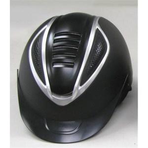 Kypärä, Lami-CellUuden standardin mukainen säädettävä näyttävä turvakypärä. Matta musta, alumiinin väriset koristeet.Vuori irrotettavissa pesua varten.
