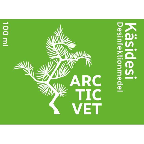 Käsidesi, ArcticVetArcticVet käsidesi on kotimaista ja täyttää kaikki lain vaatimat käyttö- ja turvallisuusvaatimukset.Tuotteen reseptiikka on virallinen