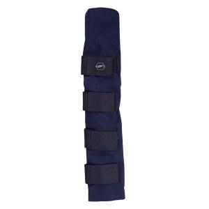 Häntäsuoja, Qhp Hännänsuojaa voidaan käyttää, kun hevosesi hieroo häntäänsä kuljetuksen aikana.Se estää jouhien irtoamisen ja suojaa häntää.