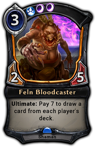Feln Bloodcaster