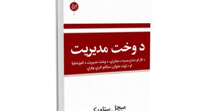 Photo of د وخت مدیریت نومې کتاب چاپ شو