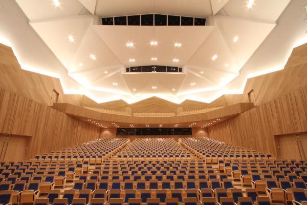 市芸術館大ホール…「見えづらい席」判明
