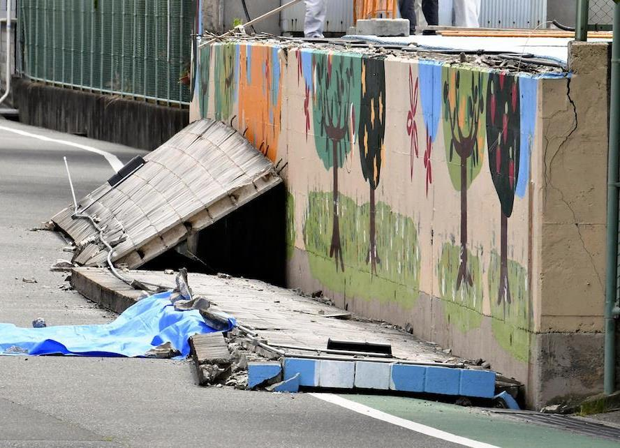 6月議会閉じる…危険なブロック塀の撤去、最優先で