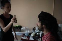 portrait maquillage Nunsu éduc foyer Le Téo à Avenay Val d'Or dans le clip Pôle Emploi du rappeur français Nunsuko