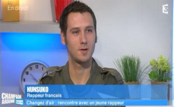 Valérie Alexandre, présentatrice de l'émission Champagne-Ardenne matin en direct tout les jour sur France 3 a reçu Nunsuko