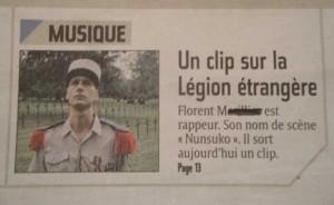 clip reims journal l'union reims interview artiste nunsuko rap La présentation du troisième clip du rappeur français nunsuko dans le journal l'union reims