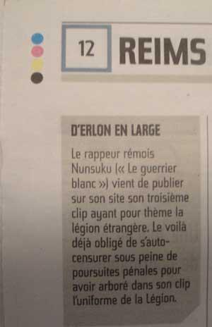 rap français journal local l'union reims rappeur nunsuko