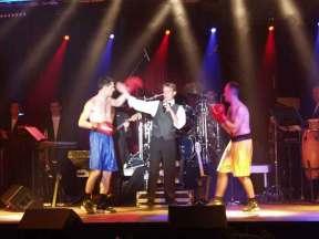 boxe boxeur spectacle personnage acteur sylvain landry