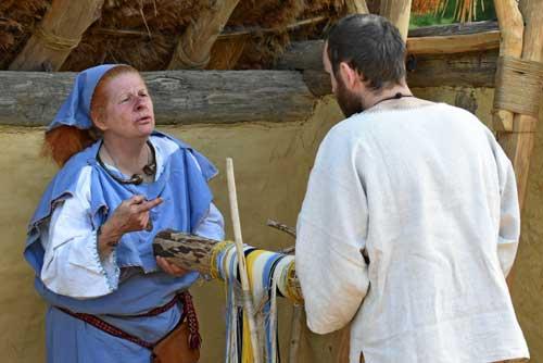 Faire du tissage comme à l'époque Gauloise