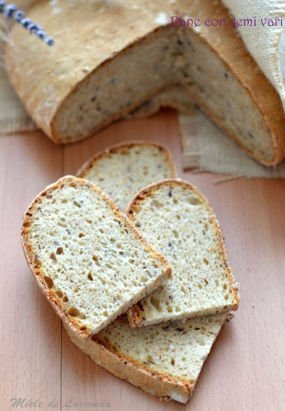 Pane con semi vari pane fatto in casa a lievitazione naturale