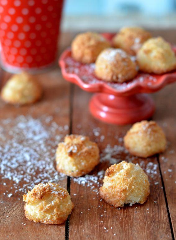 Biscotti facili con farina di cocco e soli albumi