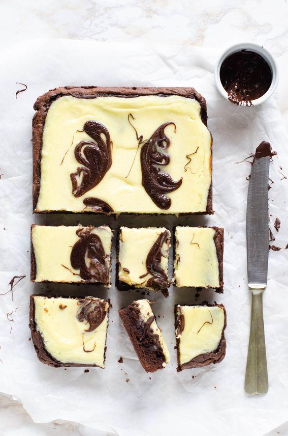 Brownies cheesecake ricetta senza burro
