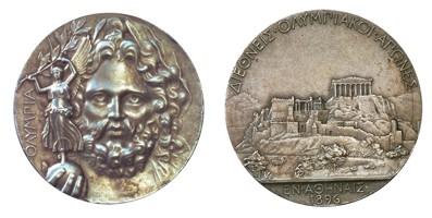 medaglia Olimpiadi 1896 atene