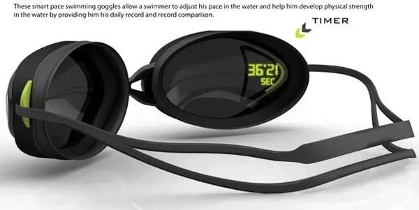 occhialini nuoto cronometro