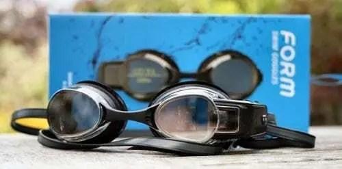occhialini nuoto con cronometro