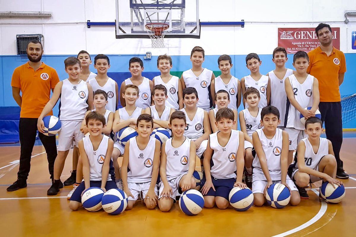 Esordienti 2007 Nuova Argentia Pallacanestro NAP