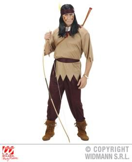 Indiano - casacca, pantaloni, cintura, fascia per testa - cod. 02742 - 20,00 €