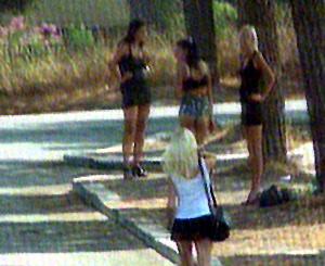 prostitute per strada