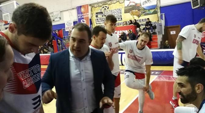 Basket Serie B: la Virtus Bpc Cassino piega in casa il Patti