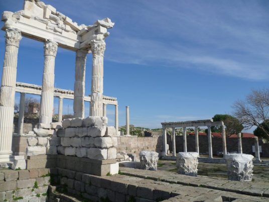 biblioteca Pergamon