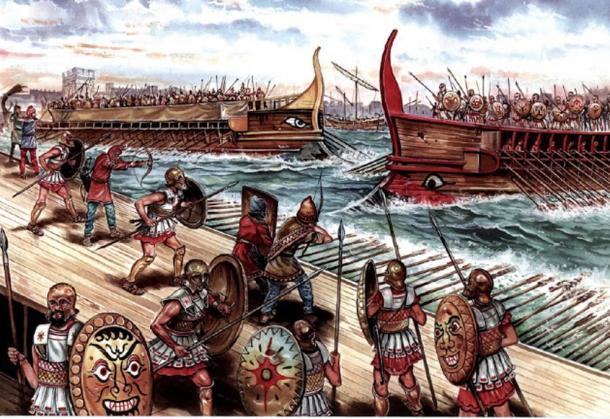 Battaglia tra Atene e Sparta