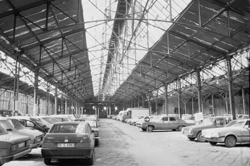 Konak Pier il parcheggio