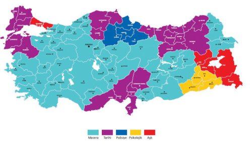 mappa 5 - distribuzione temi
