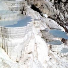 Pamukkale - hierapolis: il castello di cotone