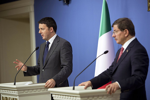Renzi in Turchia