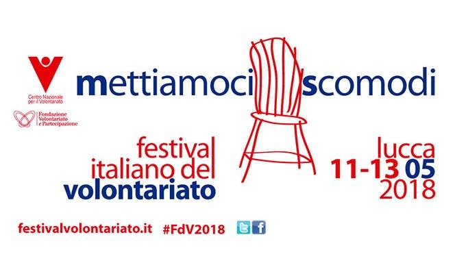 """""""Mettiamoci scomodi"""": torna il Festival Italiano del Volontariato"""
