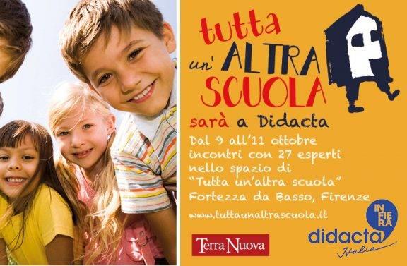 """""""Tutta un'altra scuola"""" porta 27 esperti per tre giorni di incontri a Firenze"""