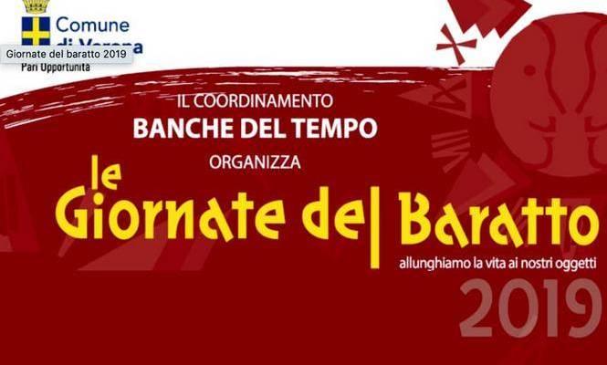 """Al Centro Tommasoli le """"Giornate del Baratto"""""""