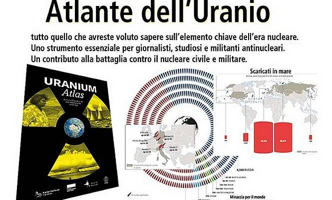 A primavera in italiano l'Atlante dell'Uranio