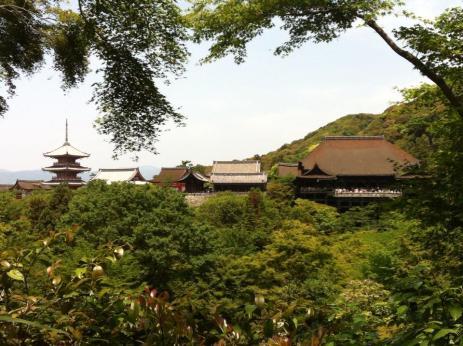 Diario Giappone Kyoto Keyomitzu Dera