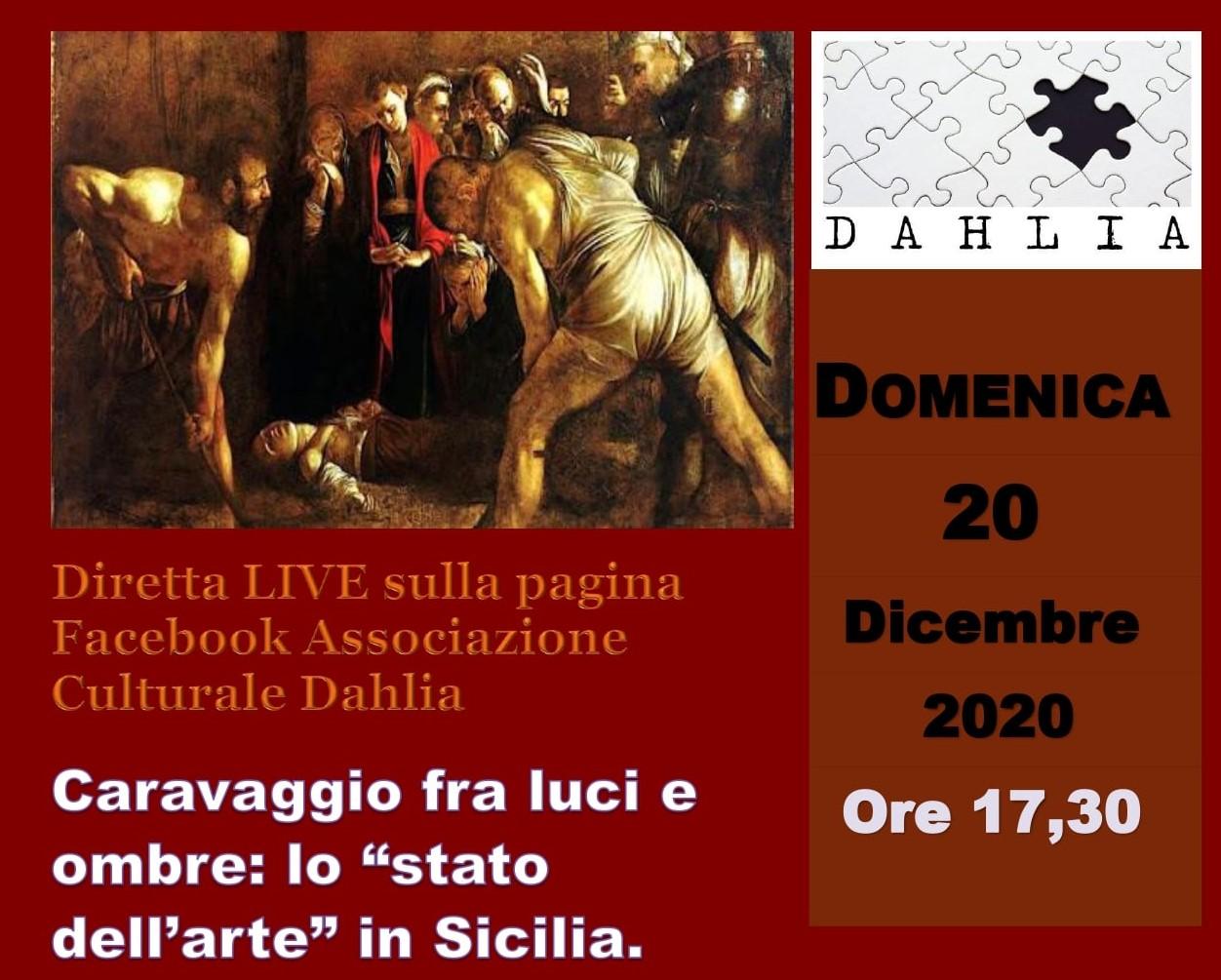 """Palazzolo Acreide, conferenza sul tema """"Caravaggio tra luci e ombre"""""""