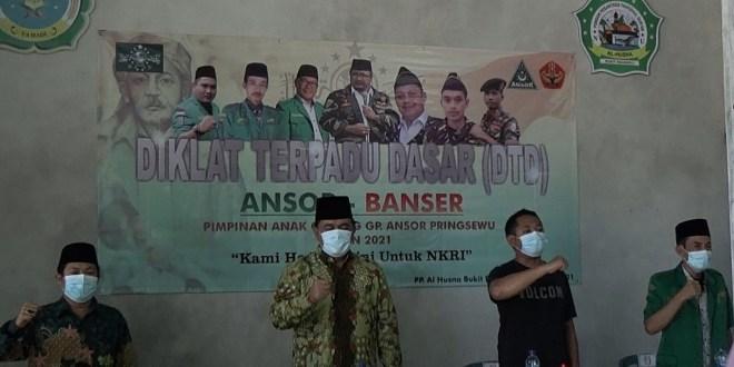 Laksanakan Diklat Terpadu Dasar, PC GP Ansor Kabupaten Pringsewu Ketatkan Prokes