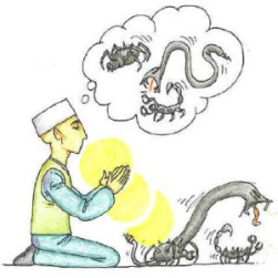 Meditation - Khalwah - burn away badness bad character - dua