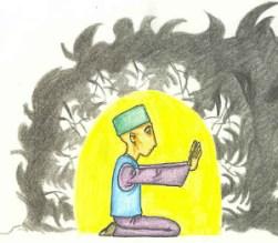 Muraqabah - meditation push away badness