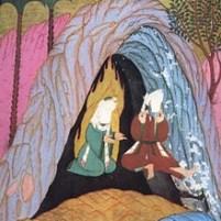 cave, hijrah, Abu_Bakr_and_Muhammad_in Cave of Thaur_(Siyer-i-Nebi_1595_n.Chr.)1