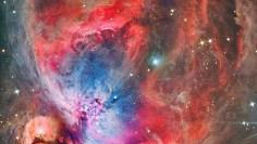 M42 – Nebula, Nabiullah – Vivid Red – Mawlana Shaykh Hisham in the heart of Universe