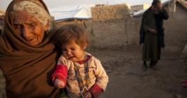 Muslim Women Kids Suffering War Against Islam