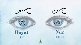 Reality of the Eyes Rahman-Raheem- Hassan-Hussain-LOGO; hayat; nur
