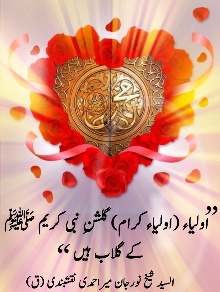 |اولیاء (اولیاء کرام) گلشنِ نبی کریم ﷺ کے گلاب ہیں| یہ پھول جس کو وہ بیان کرتے...