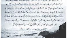 """Urdu – """"Every knowledge will be bestowed to the heart"""
