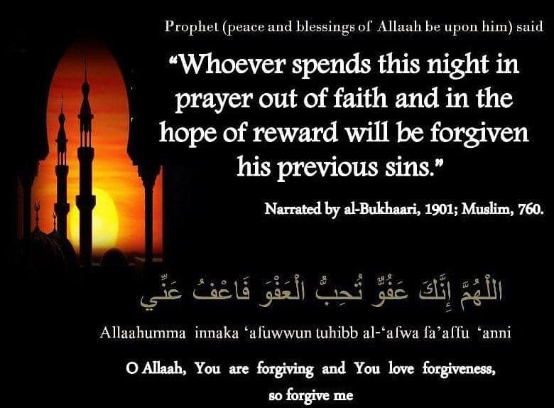 Last Night of Ramadan : The Night of Eid It had been the practice of the Proph...